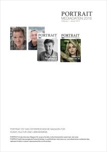 Mediadaten Magazin PORTRAIT 2016